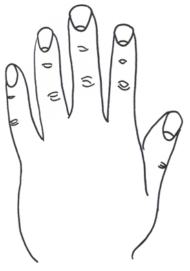 Fingernail moons